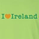 I Love Ireland St. Patrick's Day Long Sleeve T-Shirt