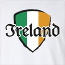 Ireland Shield St. Patrick's Day Long Sleeve T-Shirt