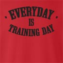 Everyday Is Training Day Crew Neck Sweatshirt
