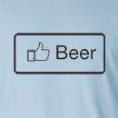 Facebook Like Beer Long Sleeve T-Shirt
