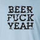 Beer Fuck Yeah Long Sleeve T-Shirt