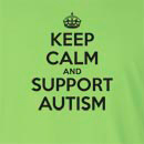 Keep Calm And Support Autism Long Sleeve T-Shirt