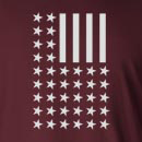 Flag Reversed Long Sleeve T-Shirt