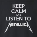Keep Calm and Listen To Metallica Crew Neck Sweatshirt