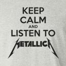 Keep Calm and Listen To Metallica Long Sleeve T-Shirt