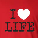 I Heart Love Life Long Sleeve T-Shirt