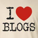I Heart Love Blogs Long Sleeve T-Shirt