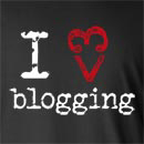 I Heart Love Blogging Long Sleeve T-Shirt