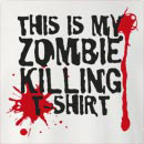 Halloween This is My Zombie Killing Crew Neck Sweatshirt