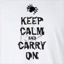 Halloween Spider Keep Calm And Carry On Long Sleeve T-Shirt