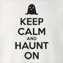 Halloween Keep Calm And Haunt On  Crew Neck Sweatshirt