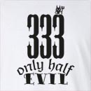 Halloween 333 Only Half Evil Long Sleeve T-Shirt