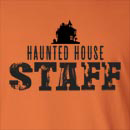 Haunted House Staff Long Sleeve T-Shirt