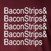 Bacon Strips Long Sleeve T-Shirt