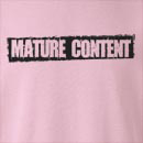 Mature Content Crew Neck Sweatshirt