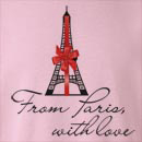 From Paris, With Love  Crew Neck Sweatshirt