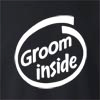 Groom Inside  Crew Neck Sweatshirt
