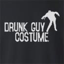 Halloween Drunk Guy Costume Crew Neck Sweatshirt