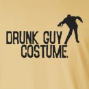 Halloween Drunk Guy Costume Long Sleeve T-Shirt