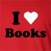 I Love Books Long Sleeve T-Shirt