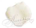 Light Ivory Silk Rose Petals Wedding 1000