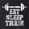Eat Sleep Train Crew Neck Sweatshirt
