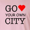 Go Love Your Own City Long Sleeve T-Shirt