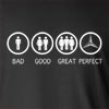 Bad Good Great Perfect Life - Mercedes Long Sleeve T-Shirt