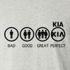Bad Good Great Perfect Life - KIA  Long Sleeve T-Shirt
