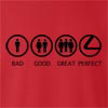 Bad Good Great Perfect Life - Lexus Crew Neck Sweatshirt
