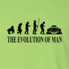 The Evolution Of Man F1 Formula 1 Long Sleeve T-Shirt