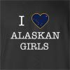 I Love Alaska Girl T-Shirt