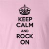 Keep Calm And Rock On Funny T Shirt