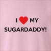 I love My Sugar Daddy Crew Neck Sweatshirt