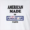 American Made of Anguilla Parts Long Sleeve T-Shirt