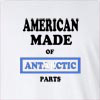 American Made of Antarctica Parts Long Sleeve T-Shirt