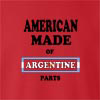 American Made of Argentina Parts crew neck Sweatshirt