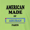 American Made of Aruba  Parts Long Sleeve T-Shirt