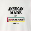 American made of mozambique parts Crew Neck Sweatshirt