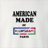 American made of namibia parts Crew Neck Sweatshirt