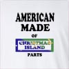 American made of christmas island parts Long Sleeve T-Shirt