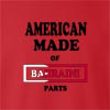 American Made Of Bahrain Parts crew neck Sweatshirt