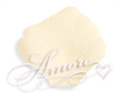 Ivory Silk Rose Petals Wedding 1000
