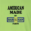 American Made of Barbados Parts Long Sleeve T-Shirt