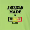 American Made of Belgium Parts Long Sleeve T-Shirt