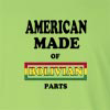 American Made of Bolivia  Parts Long Sleeve T-Shirt