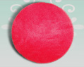 12 inches Red Tulle Circles-  25 pcs