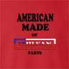 American Made Of Chile  Parts crew neck Sweatshirt