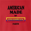 American Made Of Colombia Parts crew neck Sweatshirt