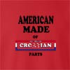 American Made Of Crotia Parts crew neck Sweatshirt